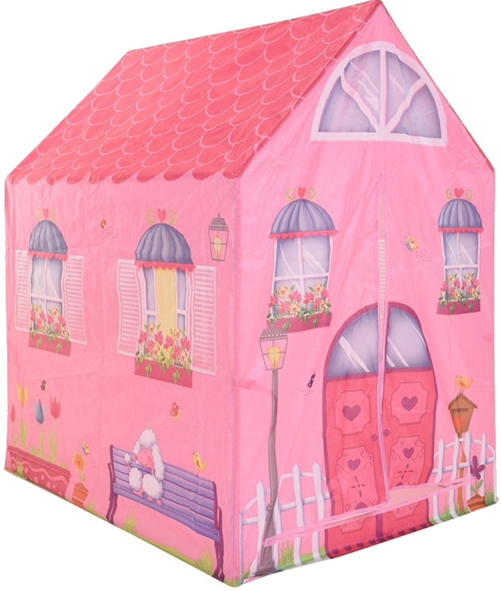 Free And Easy   Roze Huis 102 Cm Roze