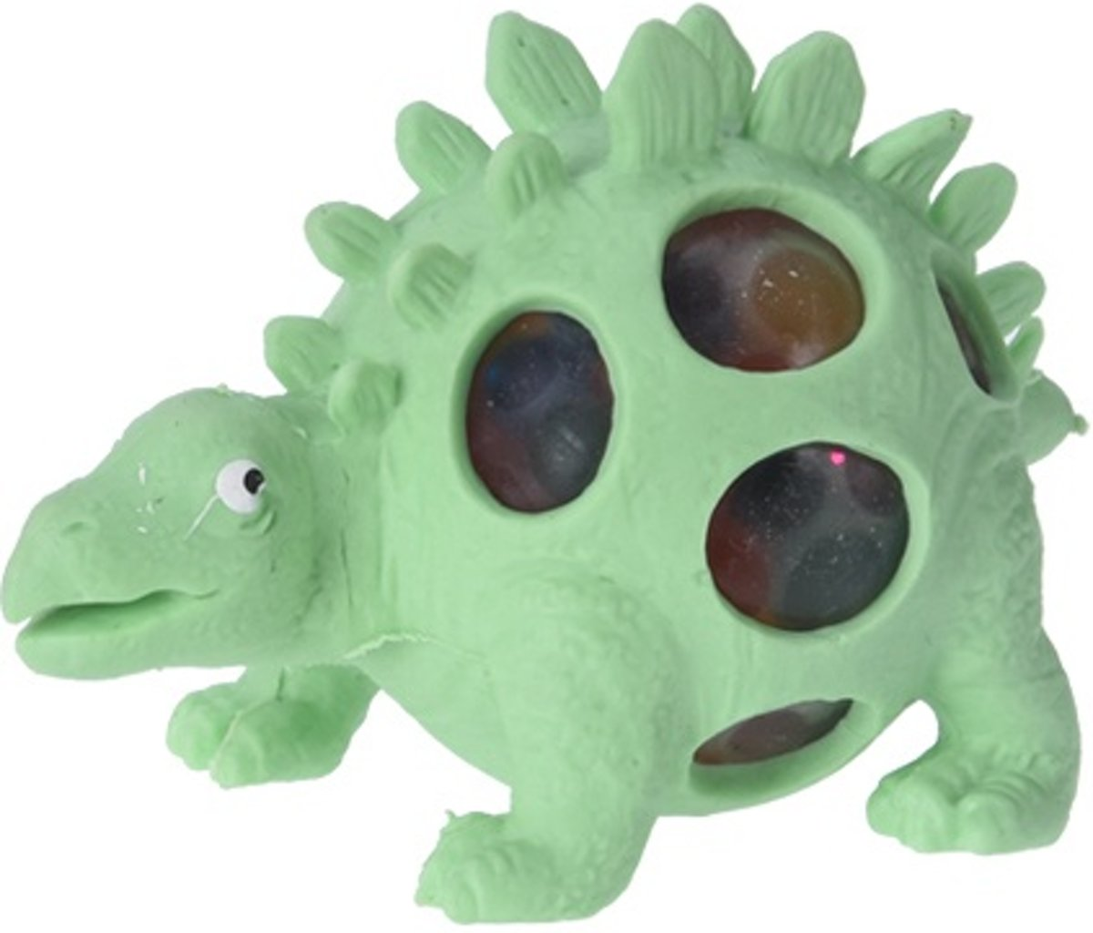 Free And Easy Stressbal Dino Mintgroen 10 Cm