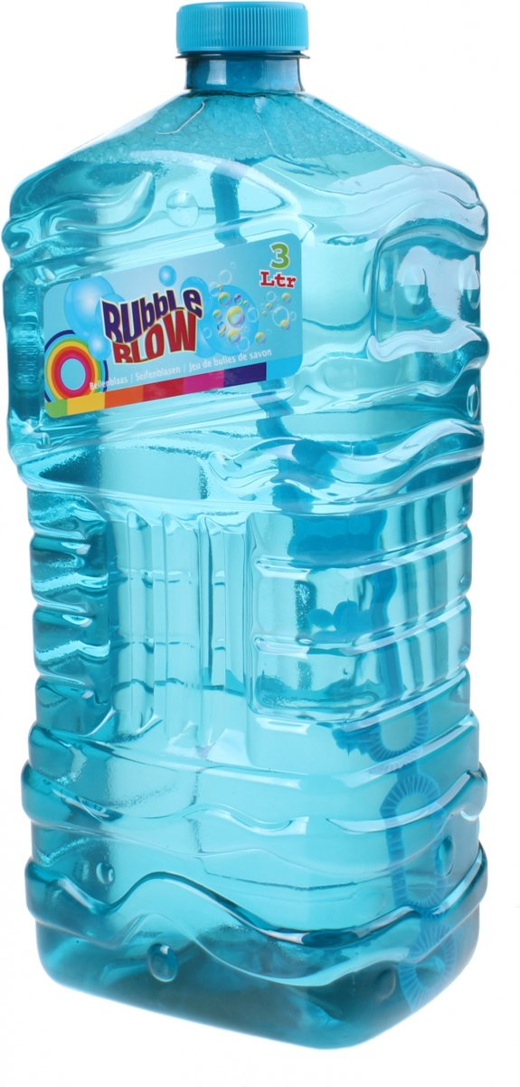 Free And Easy Navulfles   Bubble Blow 3 Liter Blauw
