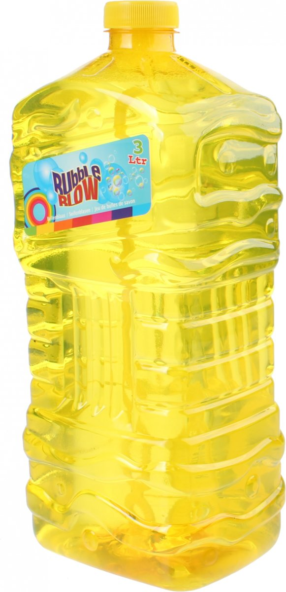 Free And Easy Navulfles   Bubble Blow 3 Liter Geel