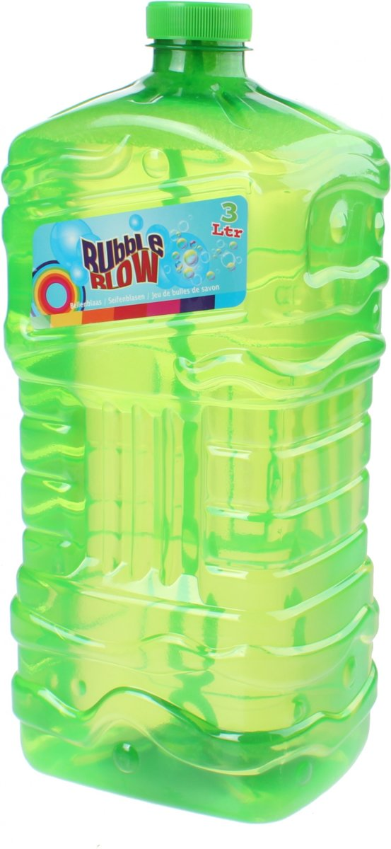 Free And Easy Navulfles   Bubble Blow 3 Liter Groen