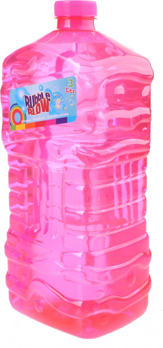 Free And Easy Navulfles   Bubble Blow 3 Liter Roze