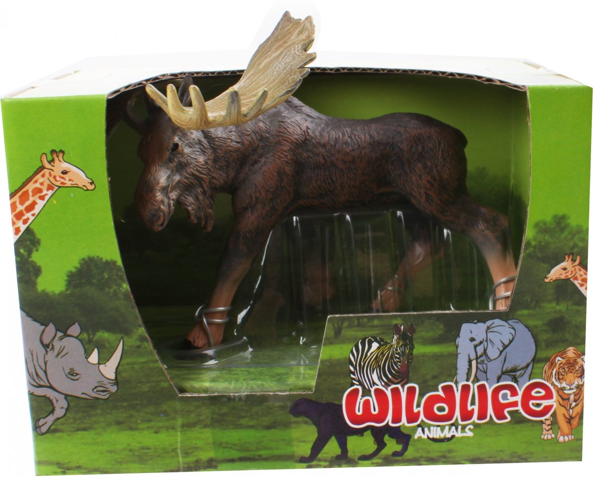 Free And Easy Wildlife Animals Eland 13 Cm Bruin