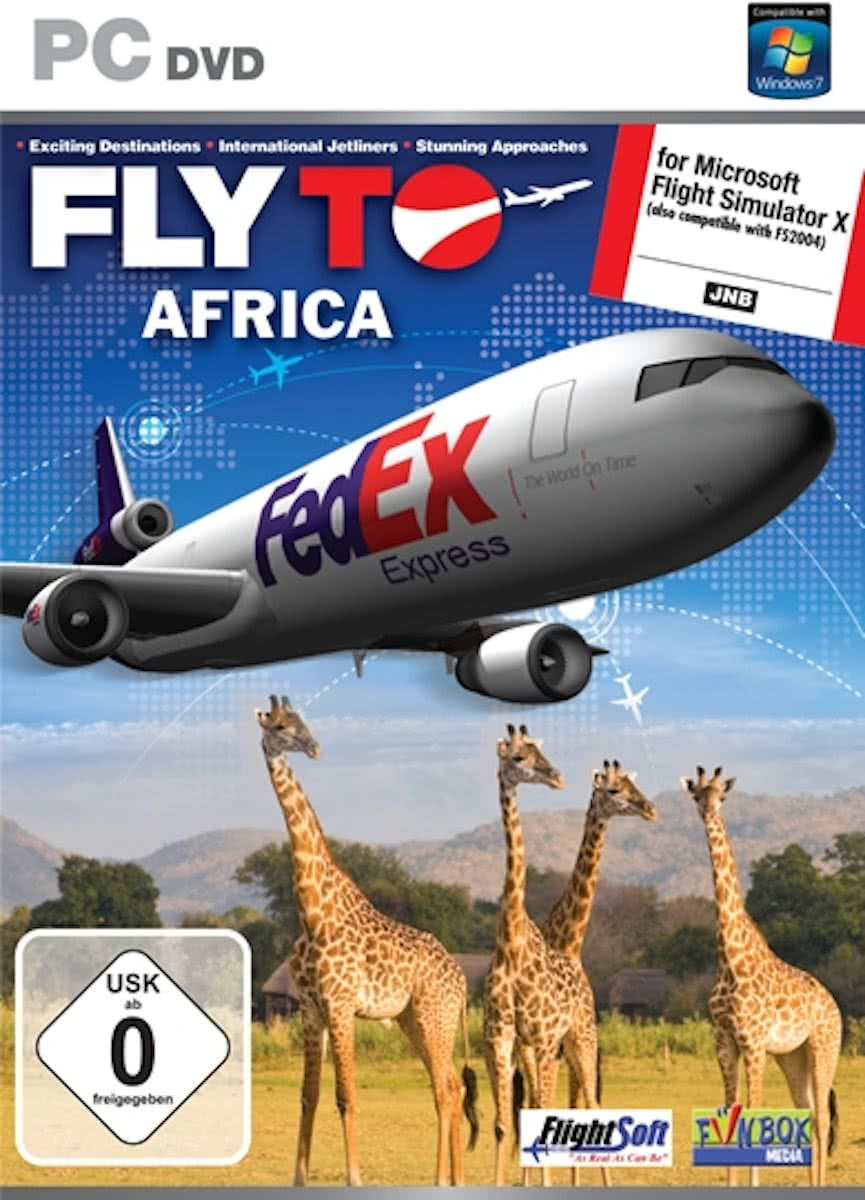 Fly To Africa (FS X + FS 2004 Add-On)  (DVD-Rom) - Windows