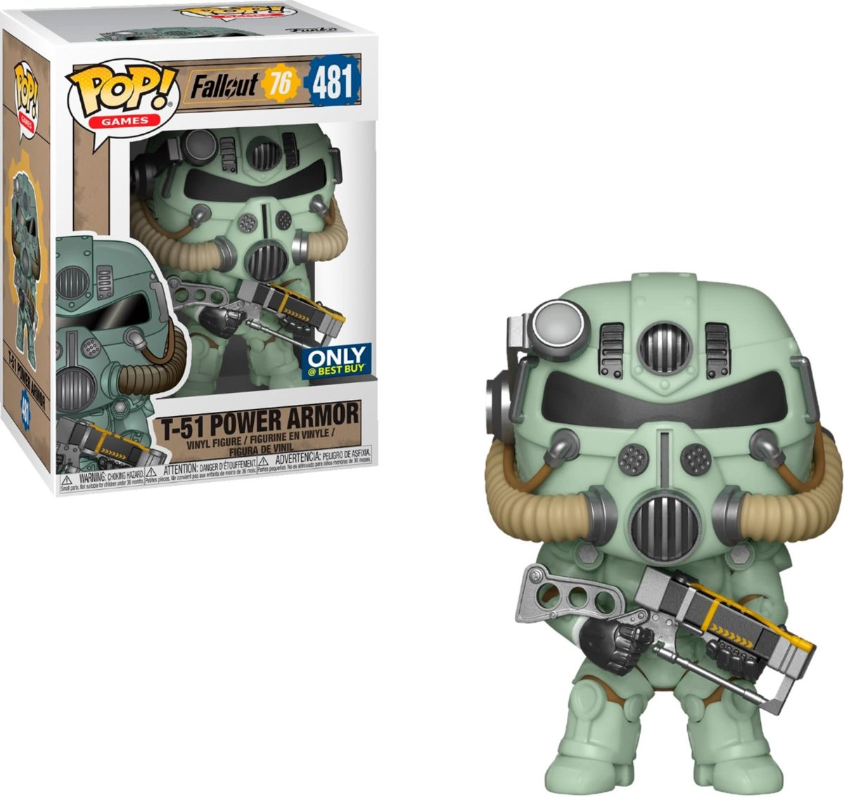 FUNKO Pop! Games: Fallout - Green T-51 Power Armor LE