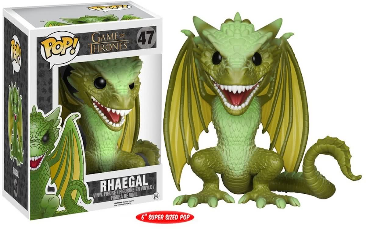 FUNKO Pop! TV: Game of Thrones - Rhegal Volwassenen Verzamelfiguur
