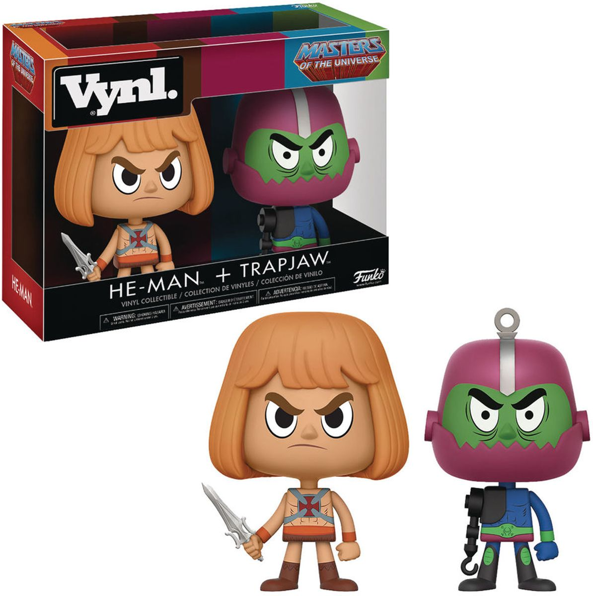 Funko / Vynl - He-Man & Trapjaw (Masters of the Universe) 2-pack