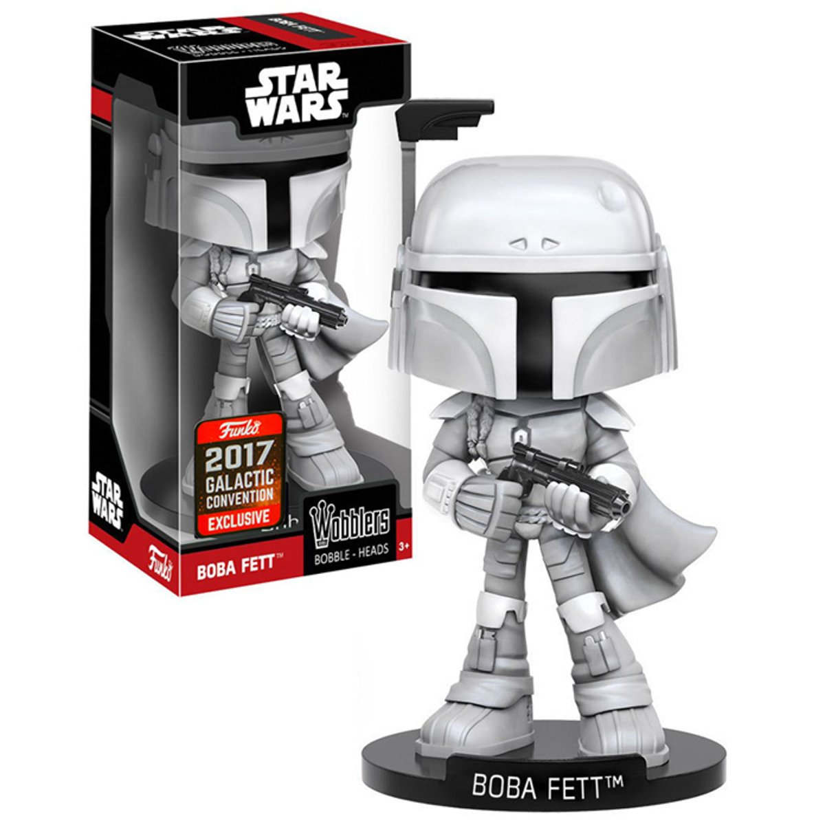 Funko / Wobbler - Boba Fett Prototype (Star Wars) Galactic Convention 2017