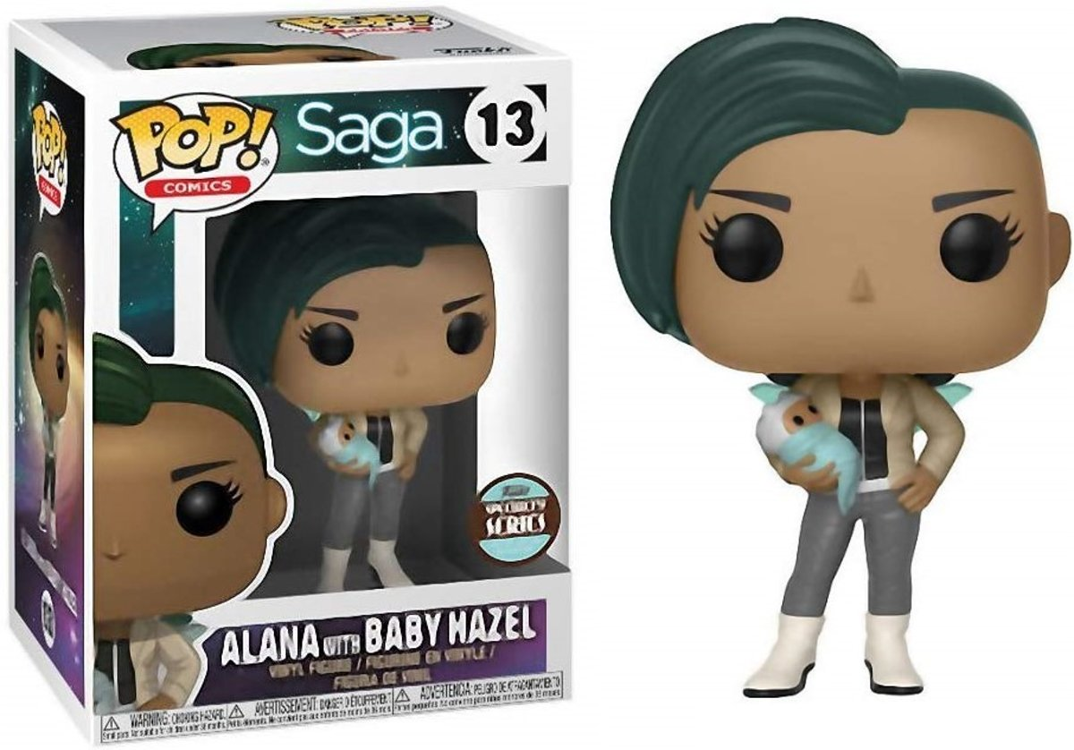 Funko Pop Comics: Saga - Alana With Baby Hazel 13 Specialty Series