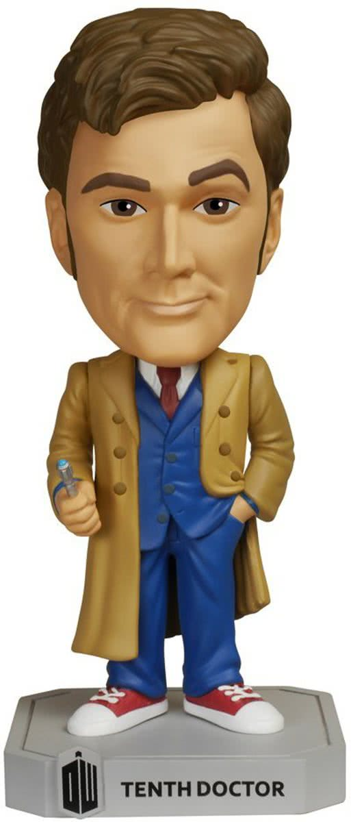 Funko: Wacky Wobbler Dr. Who - 10th Doctor