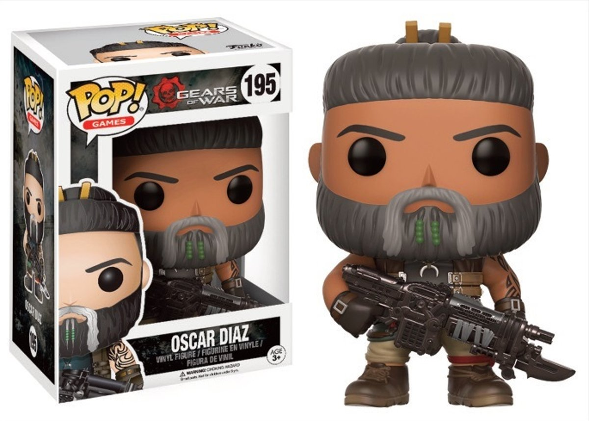 GEARS OF WAR - Bobble Head POP N° 195 - Oscar Diaz