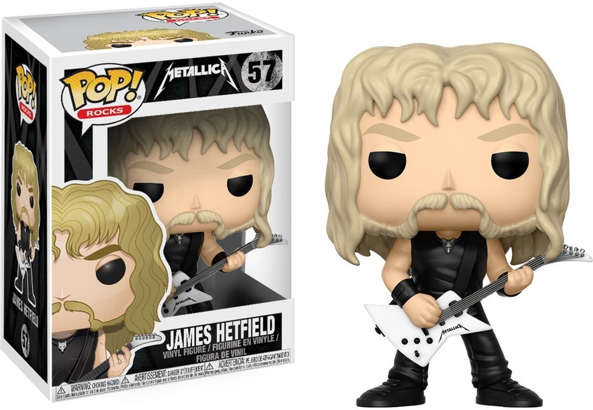 METALLICA - POP N° 57 - James Hetfield