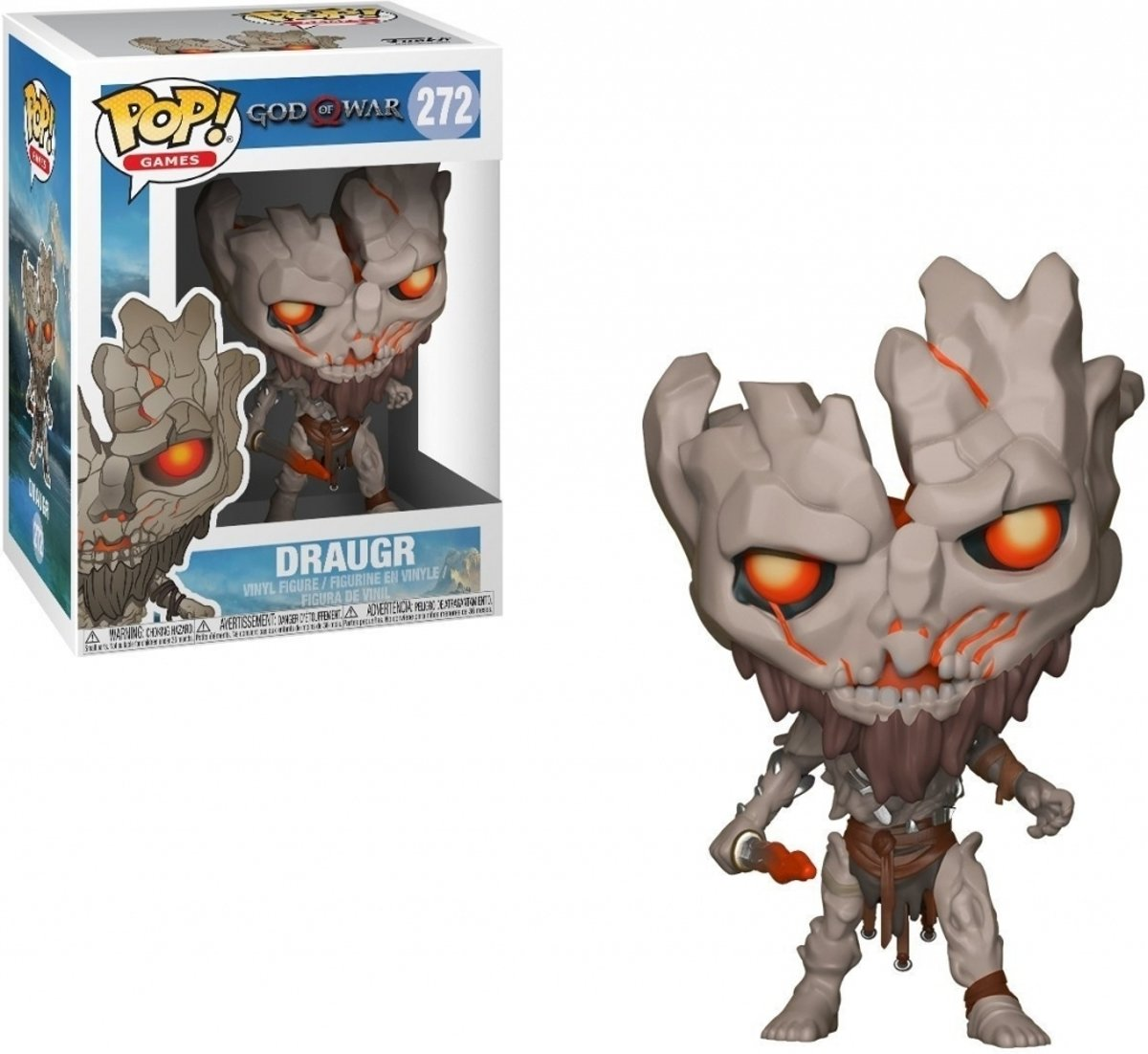 Pop God of War Draugr Vinyl Figure