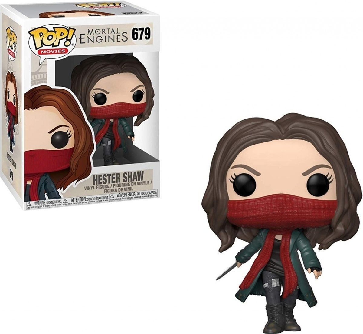 Pop Mortal engines Hester Shaw Vinyl Figure