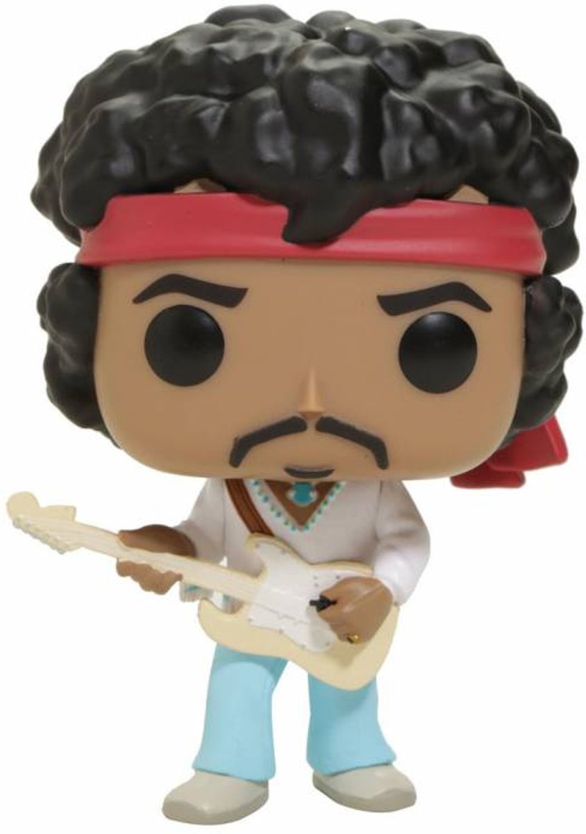Pop Music Jimi Hendrix at Woodstock Vinyl Figure