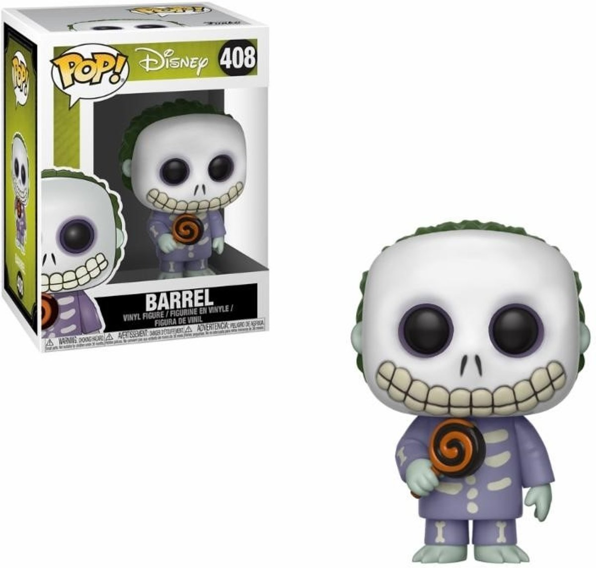 Pop Nighmare Before Christmas Barrel Vinyl Figure