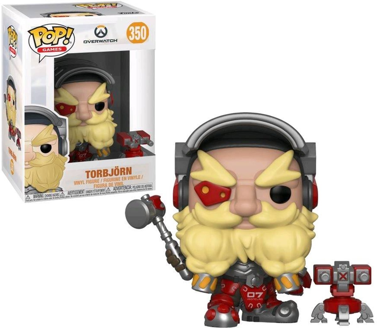 Pop Overwatch Torbjorn Vinyl Figure