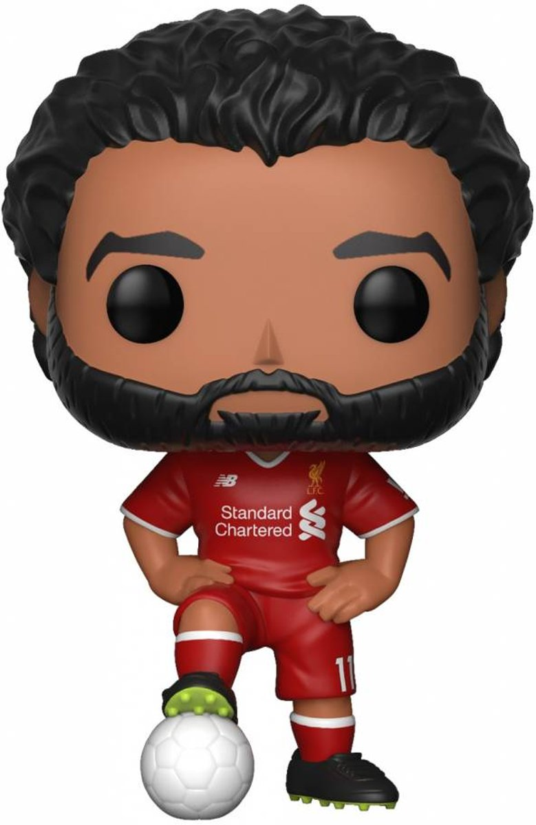 Pop Premiere League Football Mohamed Salah Vinyl Figure