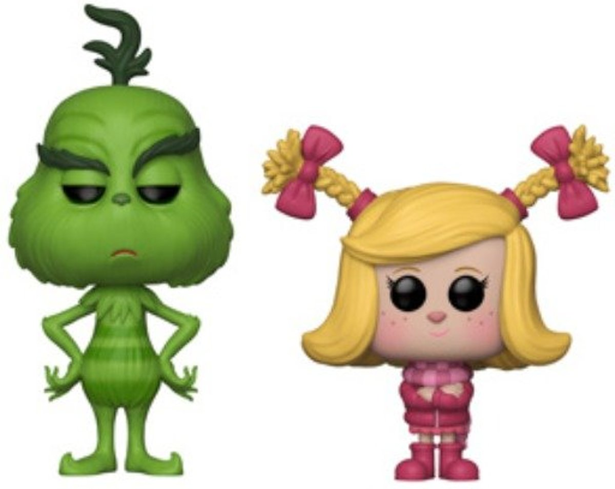 The Grinch & Cindy-Lou Who 2-Pack Limited Editie - The Grinch - Funko POP!
