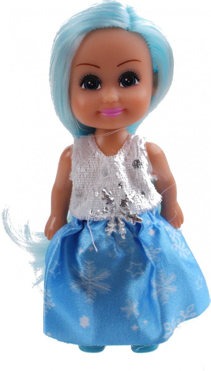 Tienerpop Sparkle Girlz Winter Princess 11 Cm Blauw