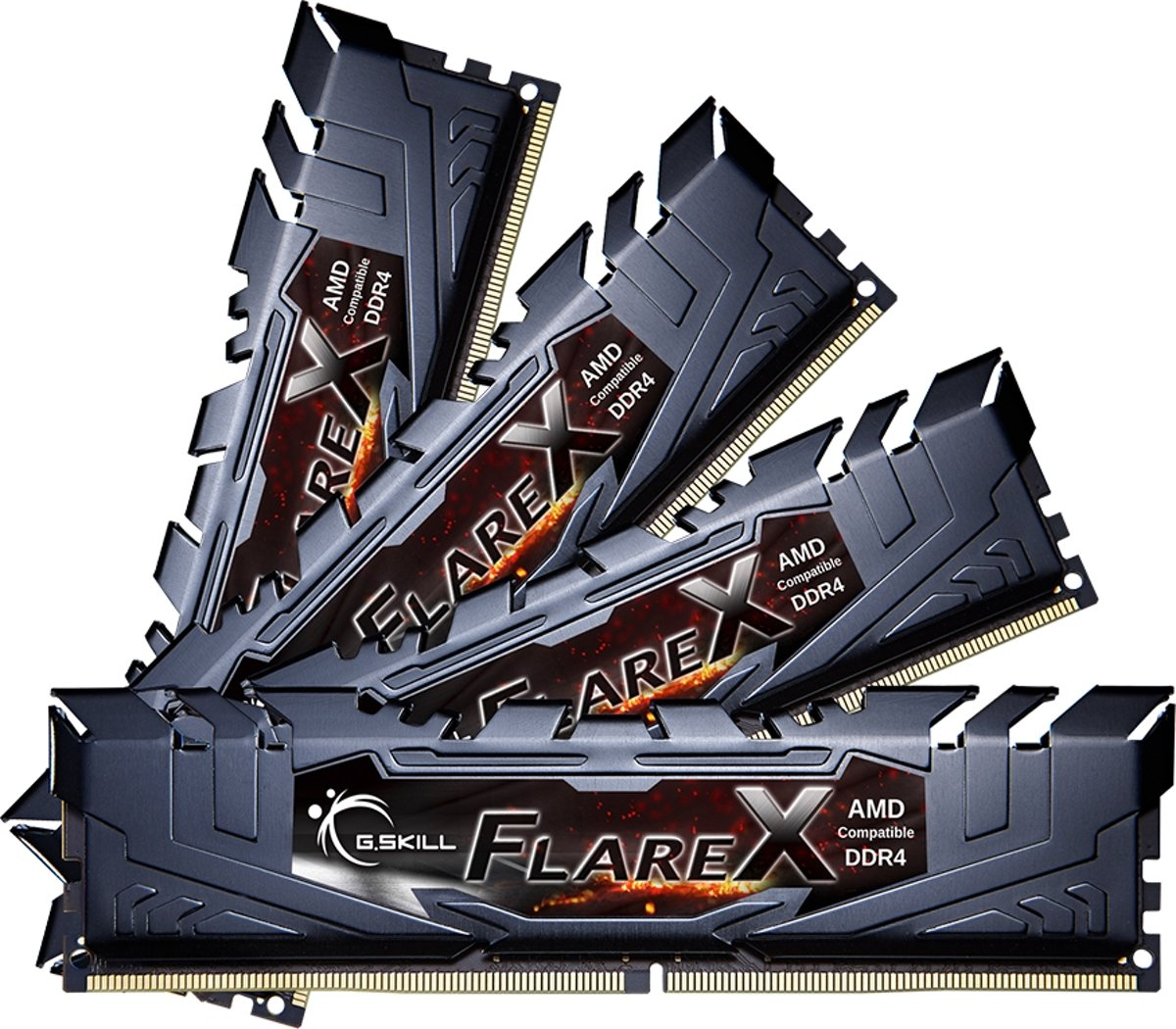Flare X (for AMD) F4-2400C15Q2-128GFX geheugenmodule 128 GB DDR4 2400 MHz