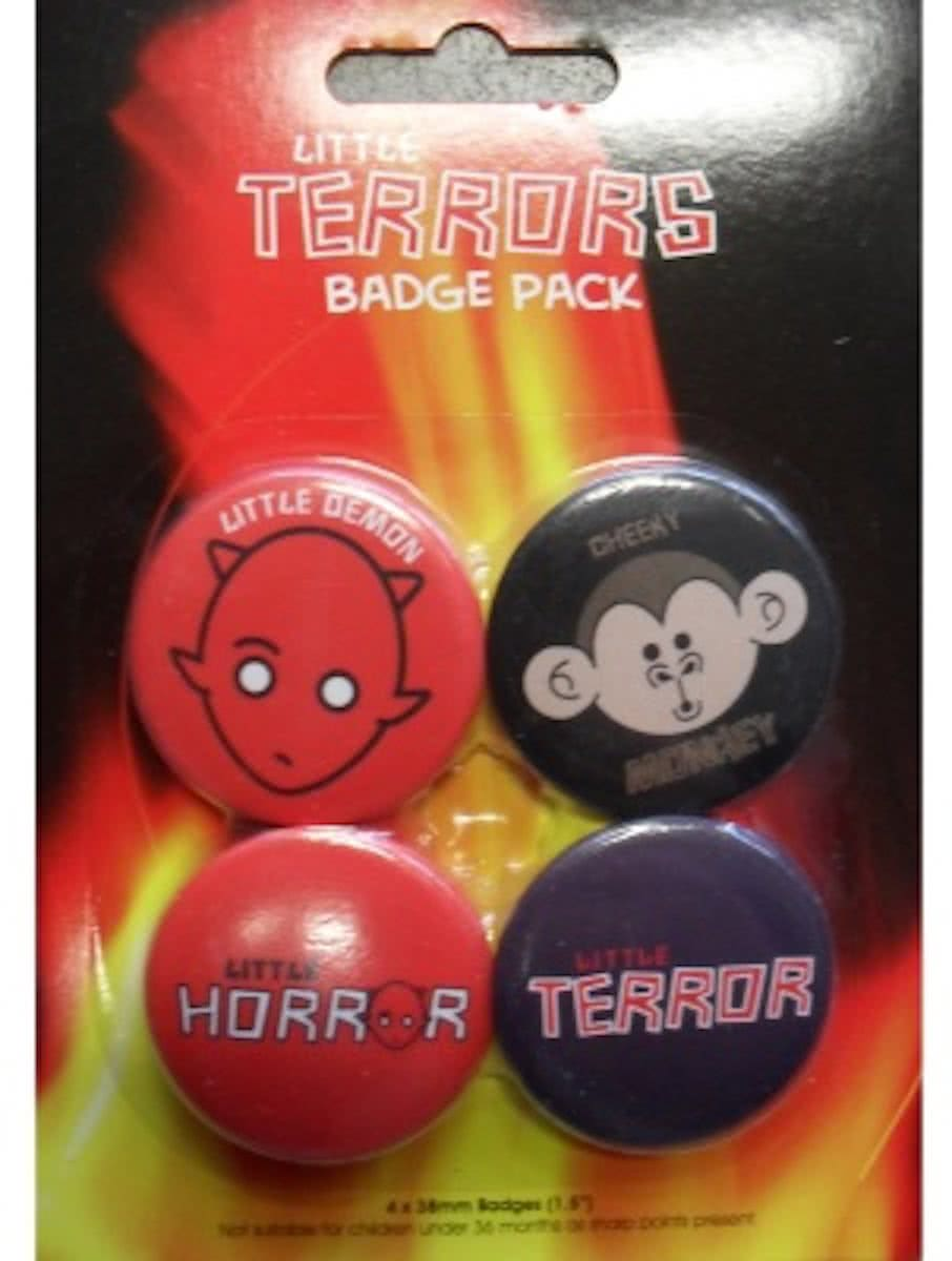 Little Terrors  s - Badge Pack