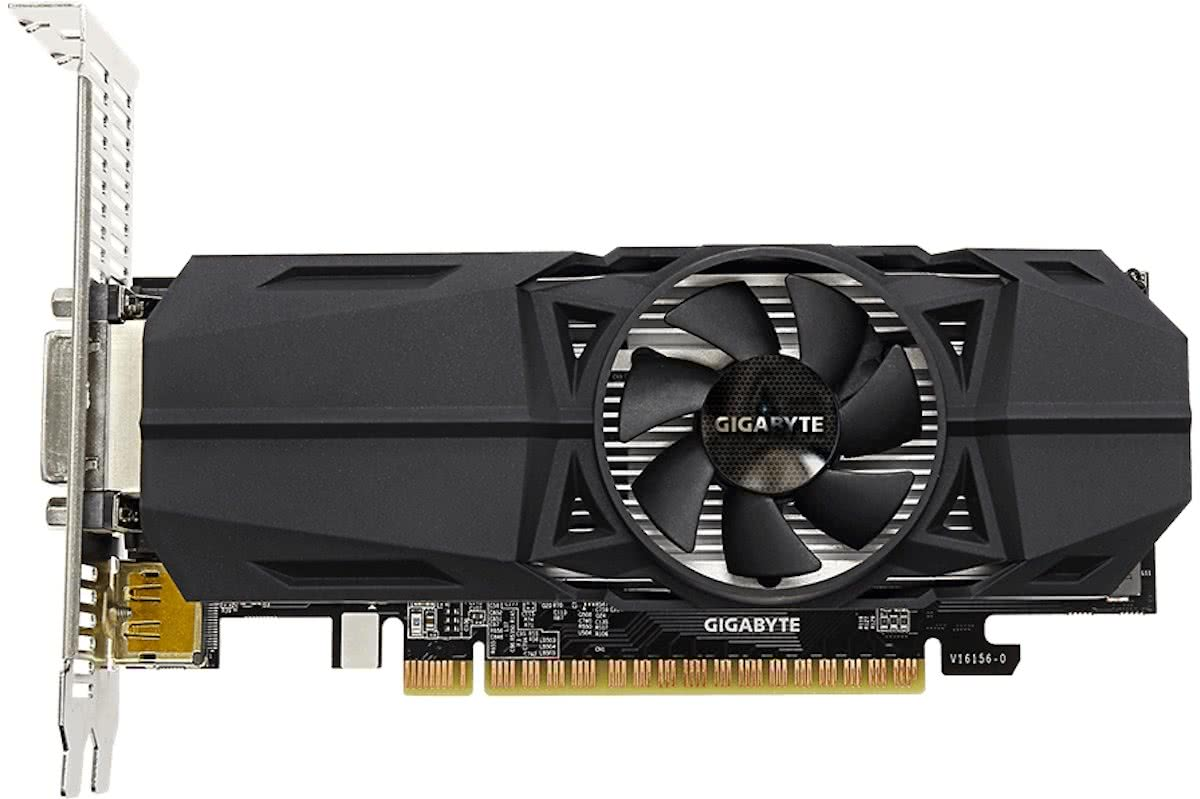 Gigabyte GeForce GTX 1050 OC Low Profile 2G