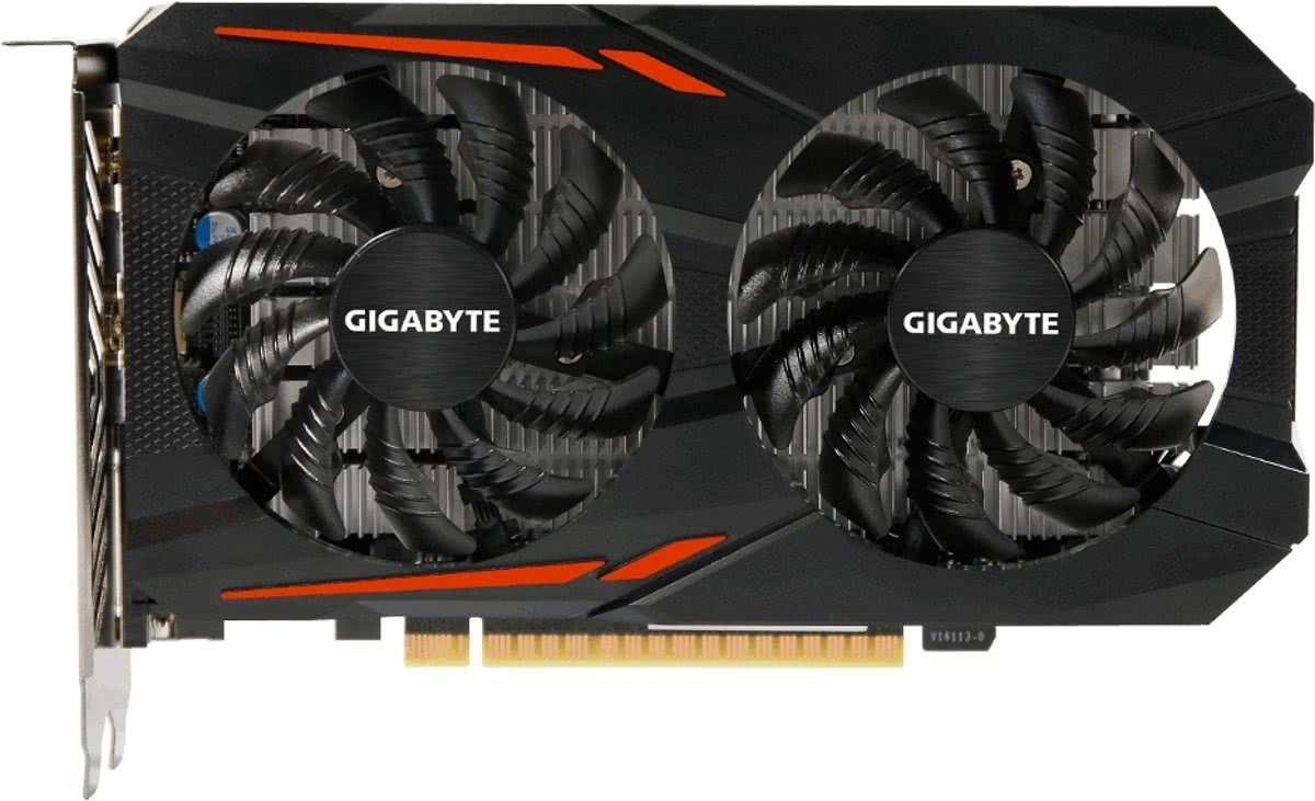 Gigabyte GeForce GTX 1050 Ti 4GB OC