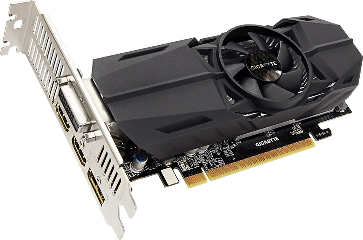 Gigabyte GeForce GTX 1050 Ti OC Low Profile 4 GB