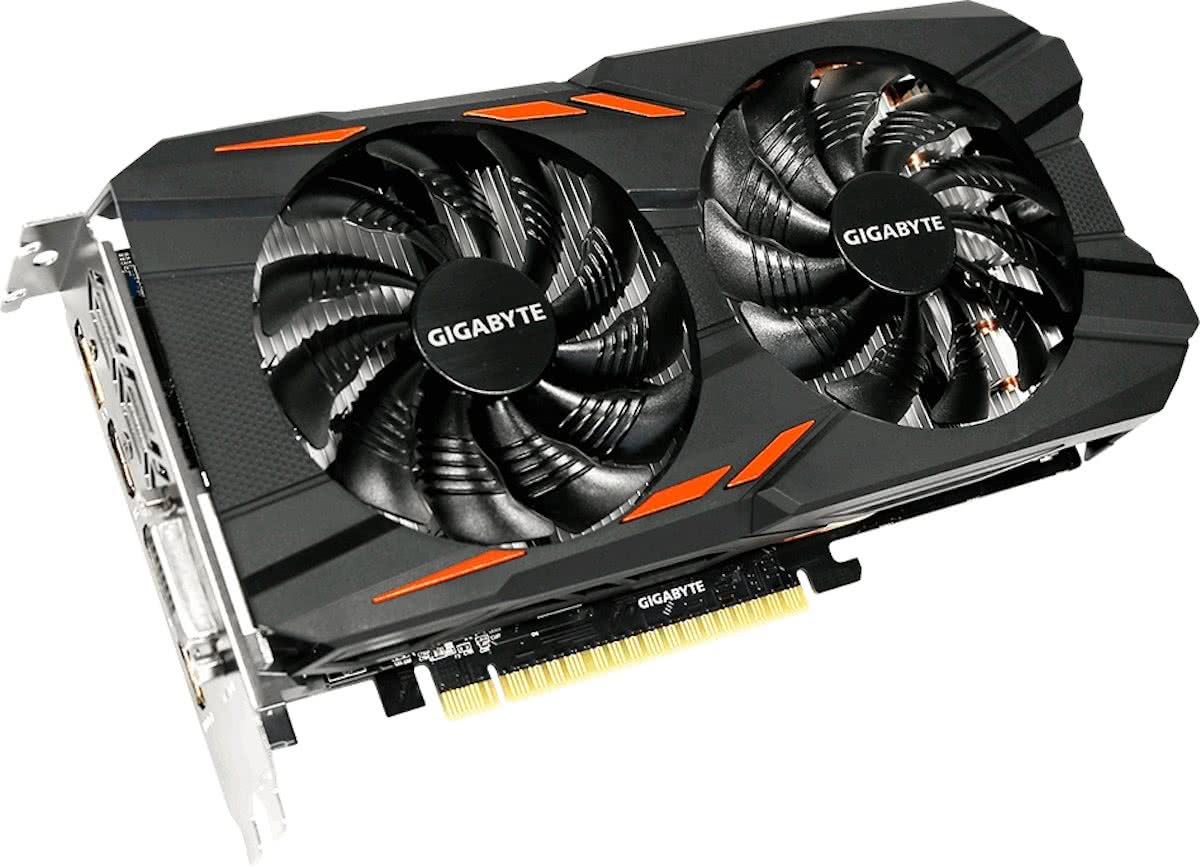 Gigabyte GeForce GTX 1050 Ti Windforce OC 4GB