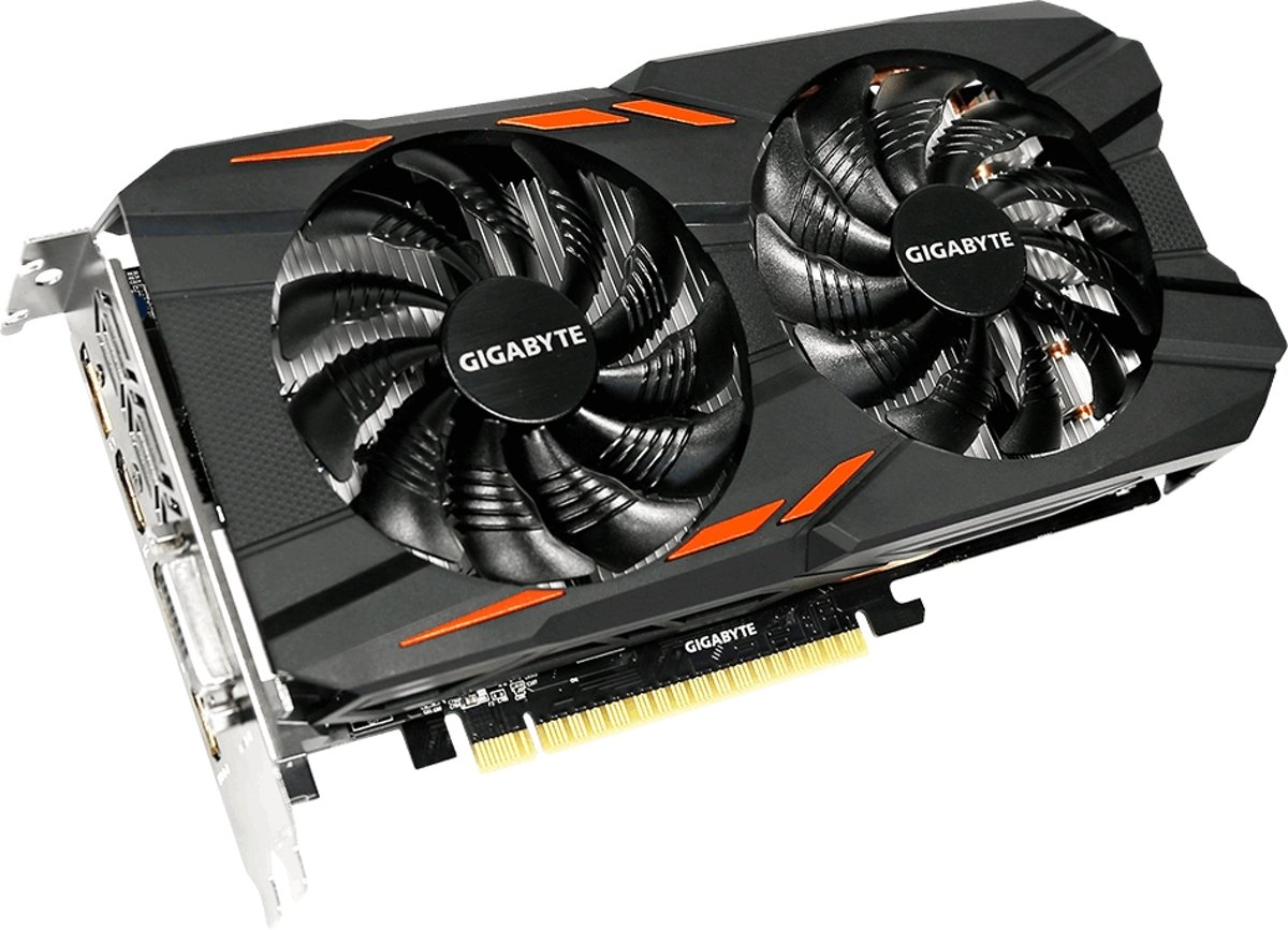 Gigabyte GeForce GTX 1050 Windforce OC 2GB