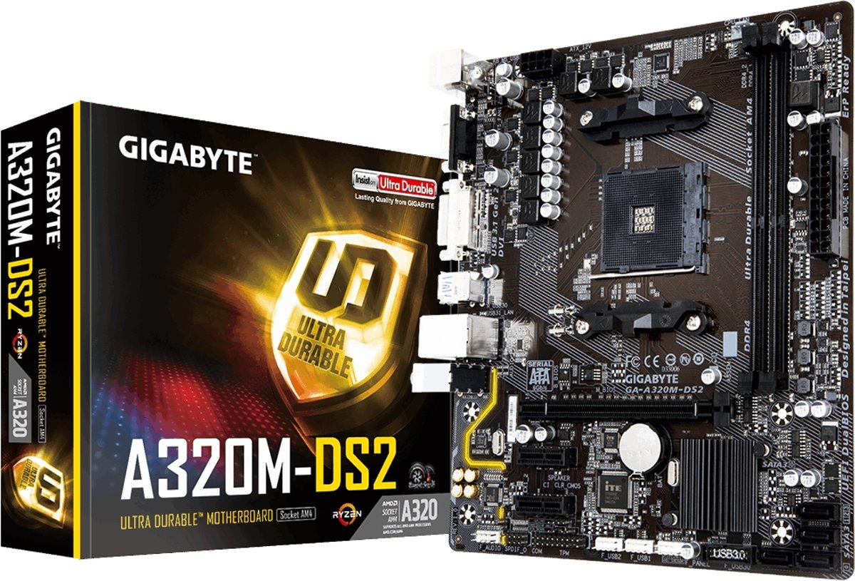 MB AMD AM4 GBT A320M-DS2