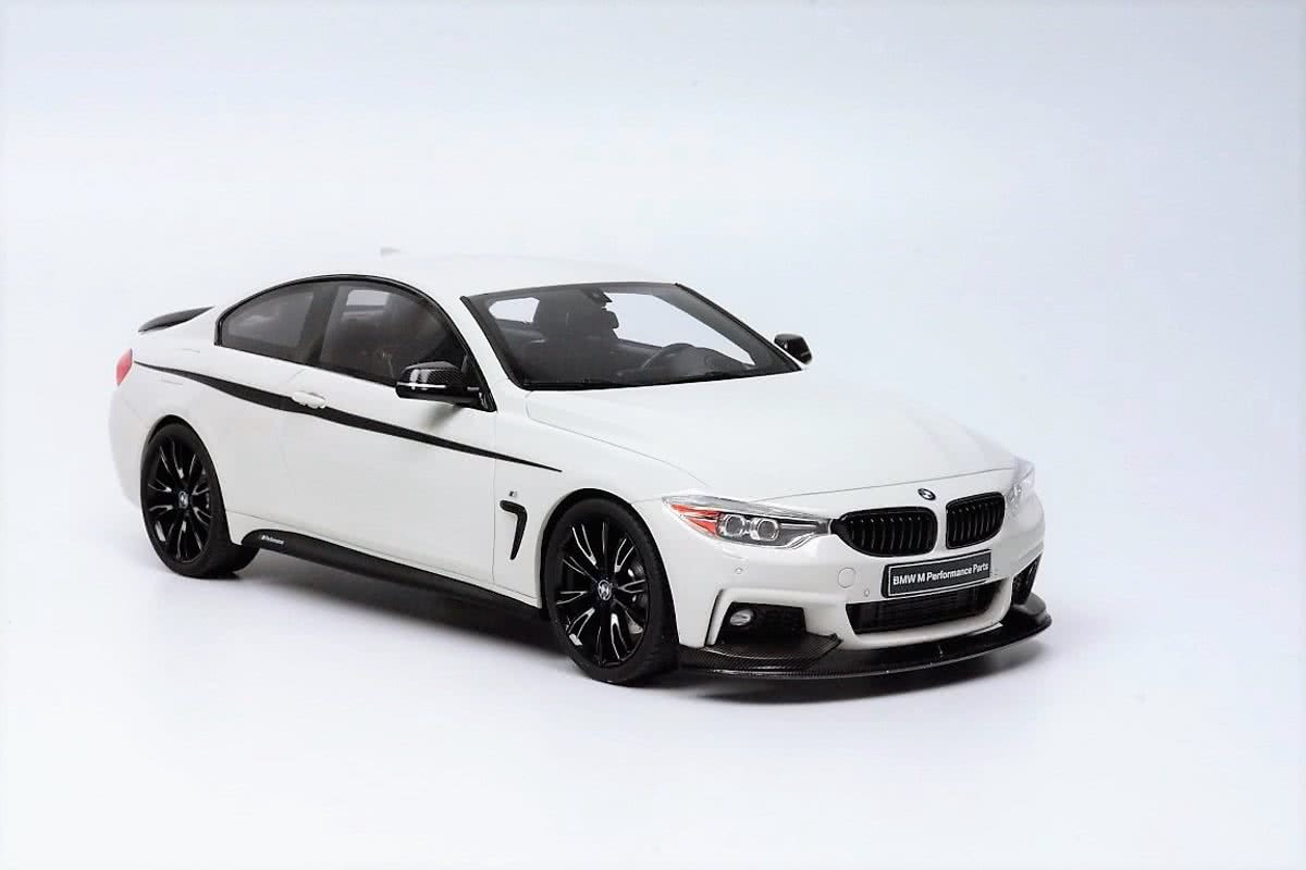 GT Spirit BMW 435i M Performance Parts Wit 1:18