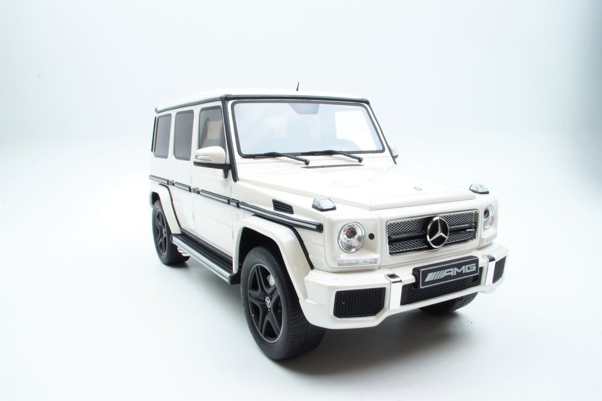 GT Spirit Mercedes-Benz G65 AMG 2013 Wit 1:12 Asia Exclusive