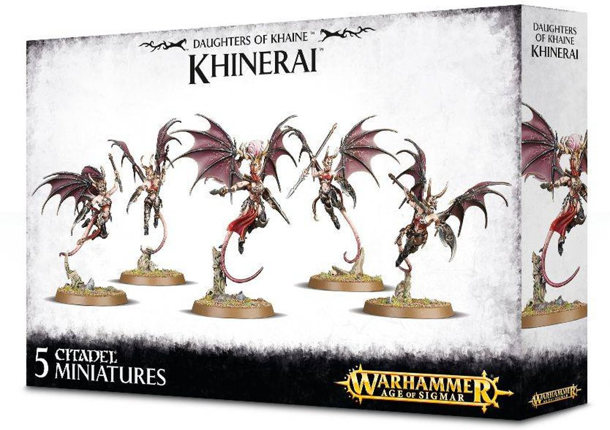 Age of Sigmar Aelves Daughters of Khaine: Khinerai Heartrenders/Lifetakers