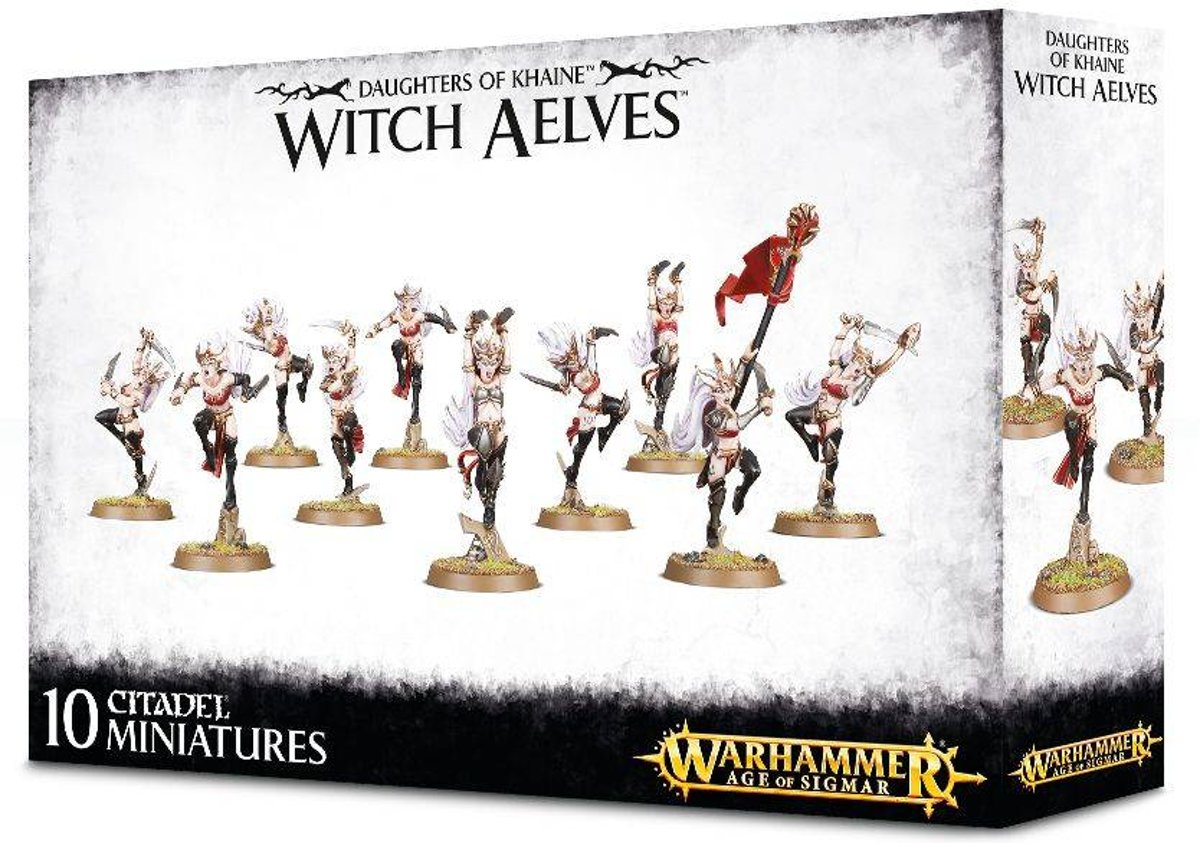 Age of Sigmar Aelves Daughters of Khaine: Sisters of Slaughter/Witch Aelves