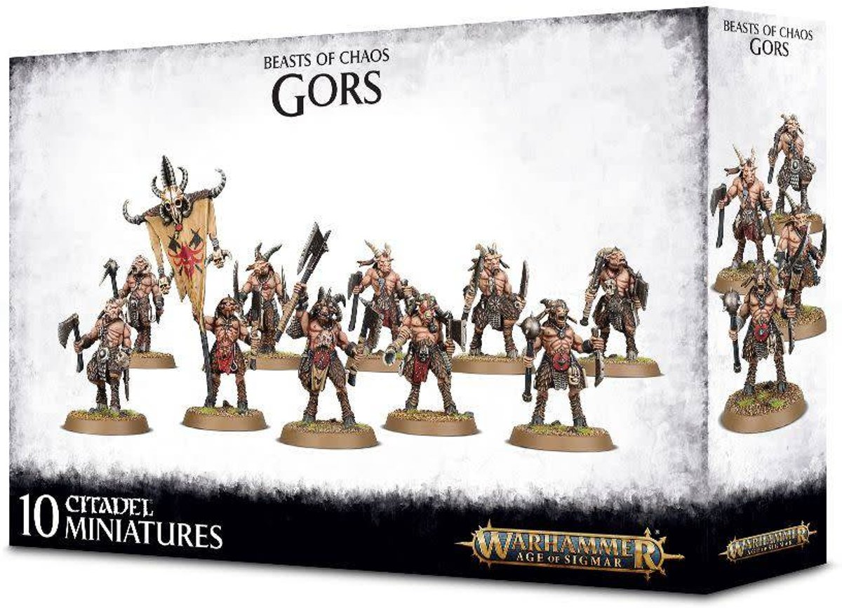 Age of Sigmar Beasts of Chaos Brayherd: Gors