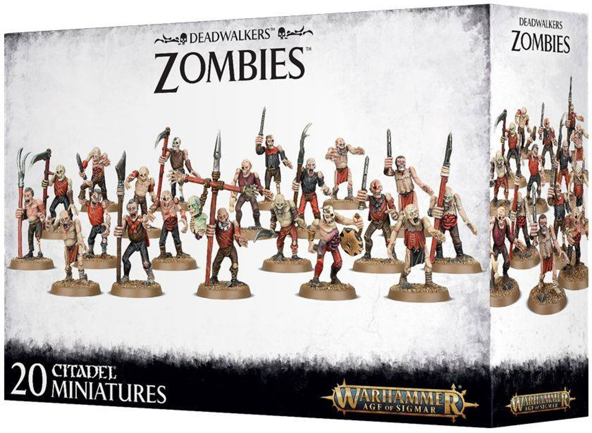 Age of Sigmar Deadwalkers: Zombies