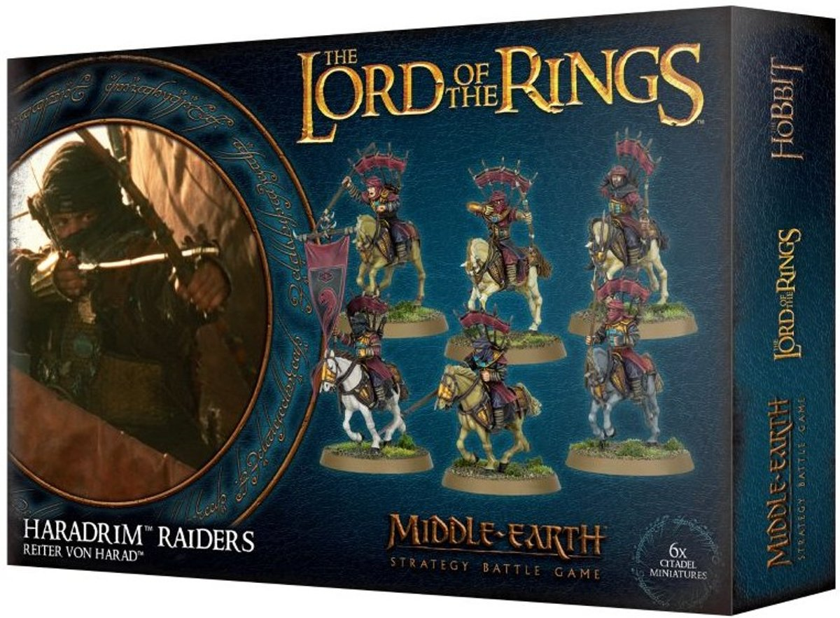 Warhammer: The Lord Of The Rings - Haradrim Raiders