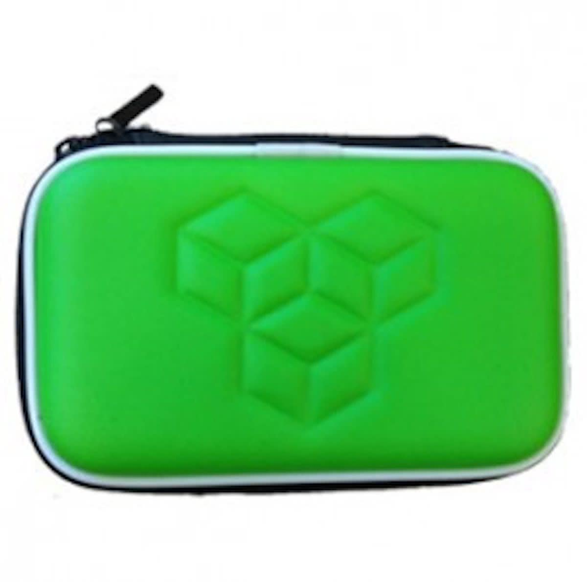 Memoryfoam case groen voor DS, DSi, DS Lite, 3DS of New 3DS