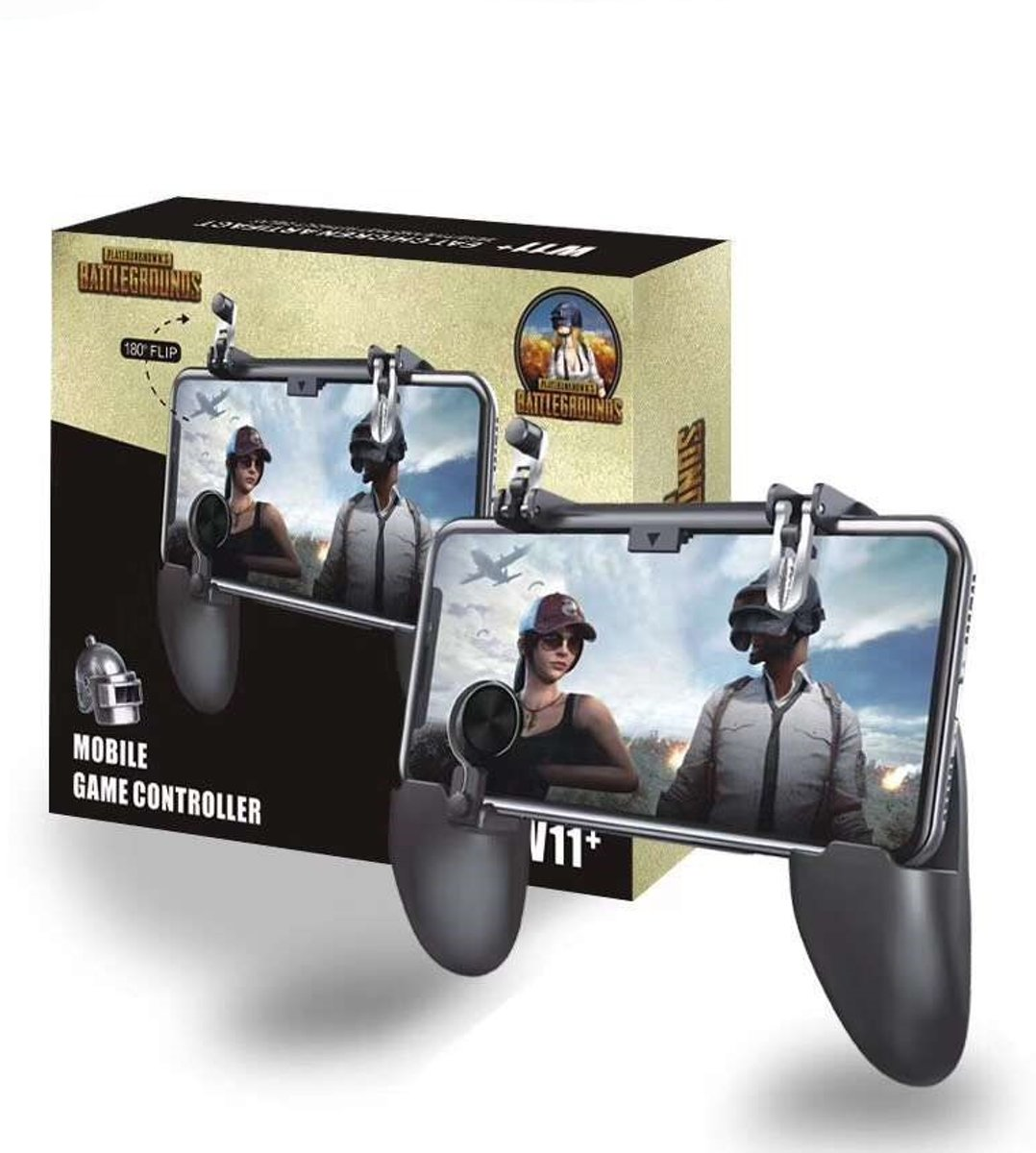 Mobiele   – Joystick – PUBG - Fortnite - L1 R1 Vuur Triggers – Gamepad - Mobiele Games - Android – IOS