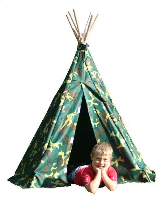 Wigwam play tent Camouflage