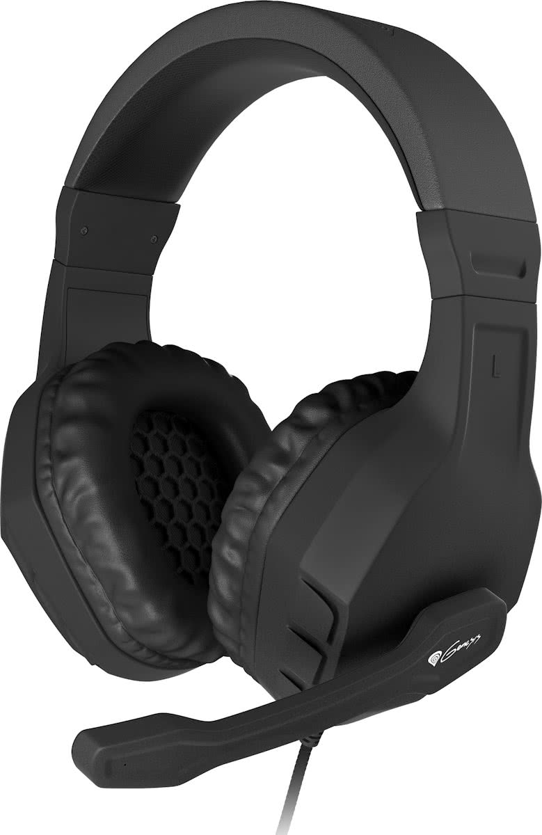 Genesis Argon 200 - Stereo PC Gaming Headset - Zwart