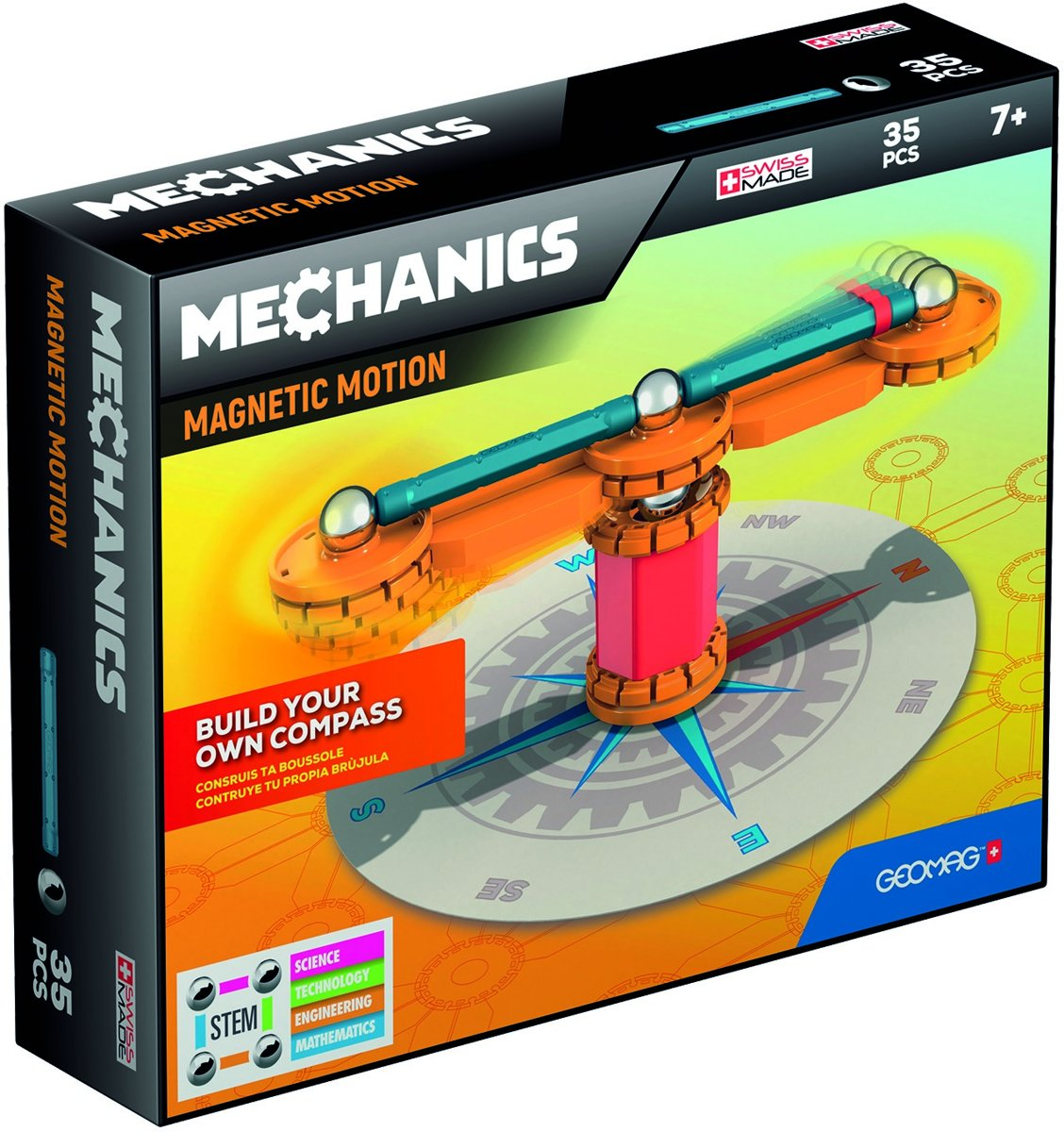 Geomag Mechanics Magnetic Motion Compas 35 delig