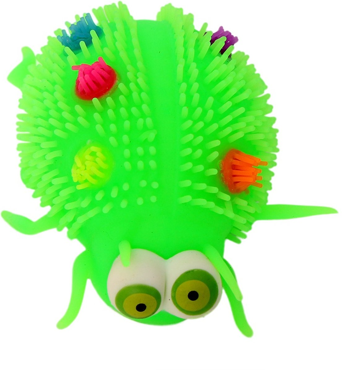 Gerardos Toys Fluffy Insect 12 Cm Groen
