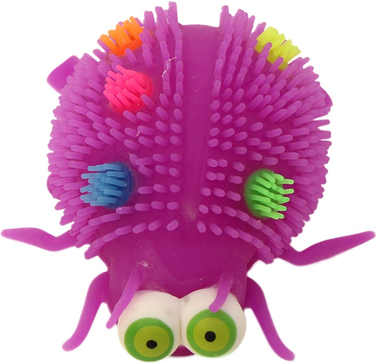 Gerardos Toys Fluffy Insect 12 Cm Paars