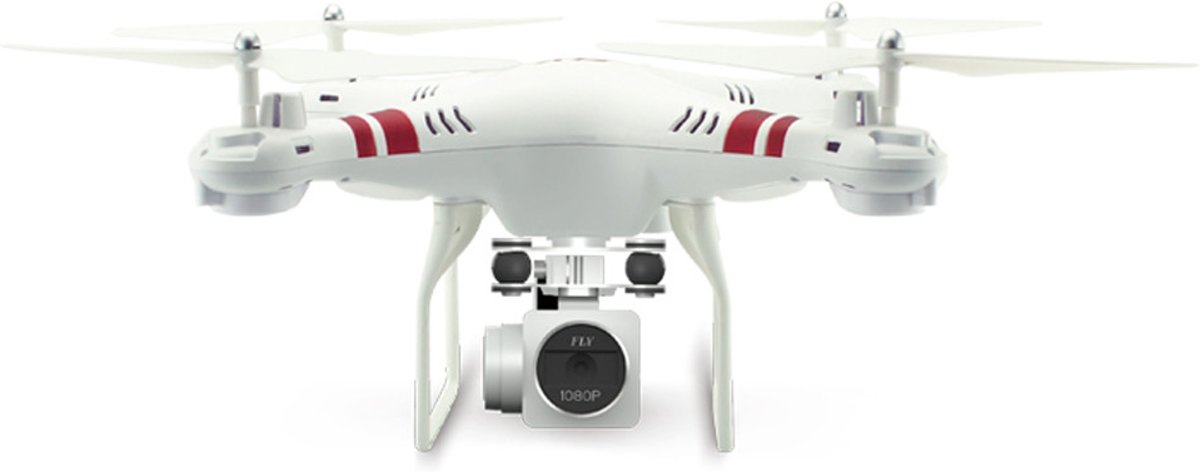Quadcopter Drone (1080p full HD camera en Smartphone besturing)