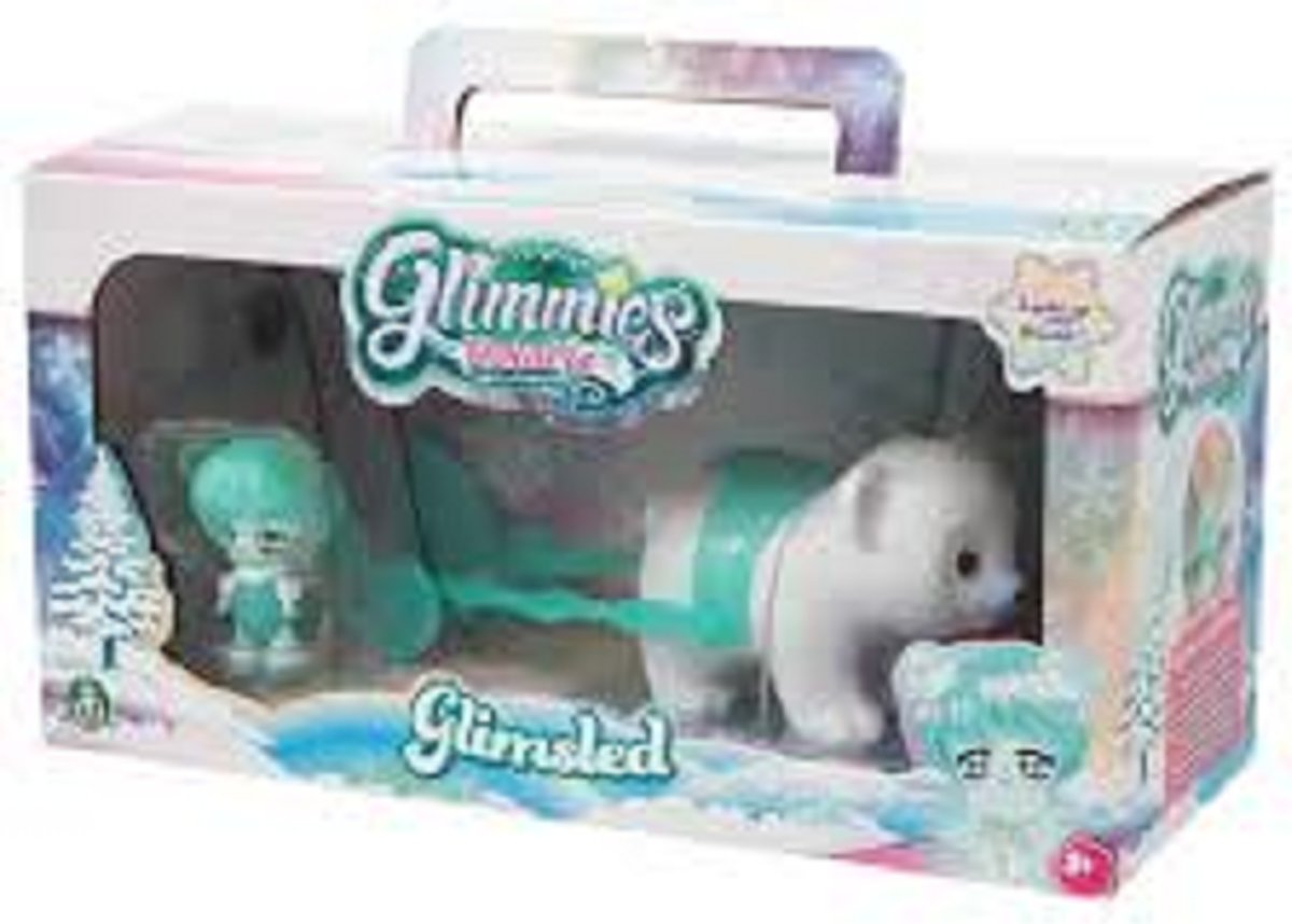 Glimmies Polaris - Glimsled (slee) + 1 Exclusieve Glimmies