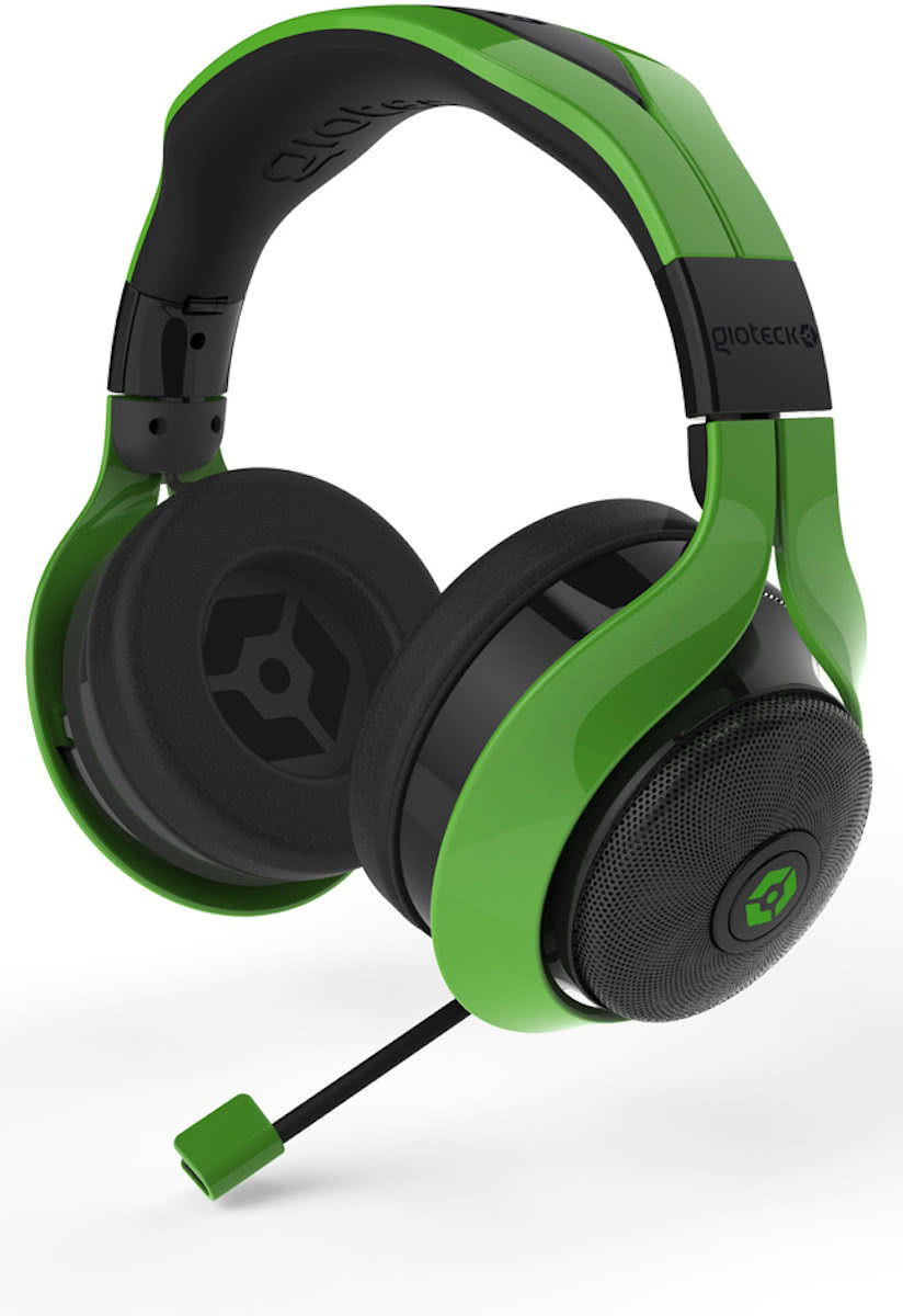 Gioteck FL-200 Stereo Headset - Groen - PC / MAC / PS4 / Xbox One