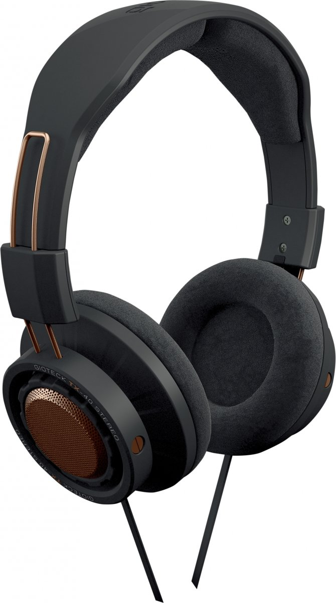 Gioteck TX40 - Stereo Gaming & Go Headset - Zwart/Koper - PS4 + Xbox One + PC + MAC + Mobile